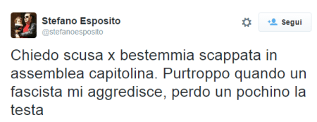 Esposito twitter