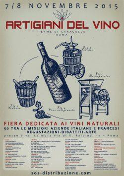 Locandina Artigiani del vino