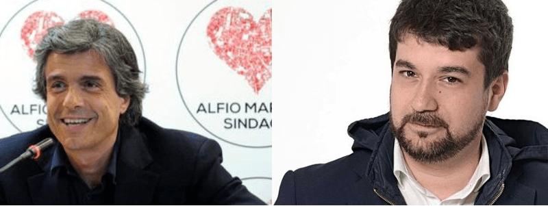 Michel Emi Maritato e Alfio Marchini