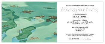 Invito RvB Arts_TRANSPARENCY_VERA ROSSI_21-22 aprile