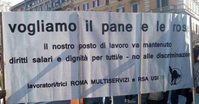 Roma Multiservizi, mobilità