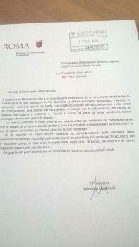 Lettera Valentino Marcinelli, Montespaccato