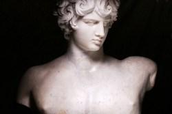 Olivier Roller, Antinoo (Museo Nazionale Romano in Palazzo Altemps), 2015, chromogenic print, 100x150cm, Ed. di 8 2 PA