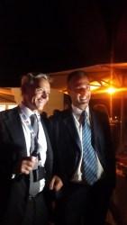De Vito e Piccinetti, inaugurazione ESC Fiera di Roma @SenzaBarcode