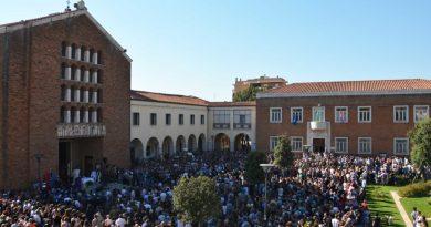 funerali vittime del terremoto pomezia