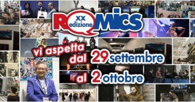 Romics fiera di roma xxedizione