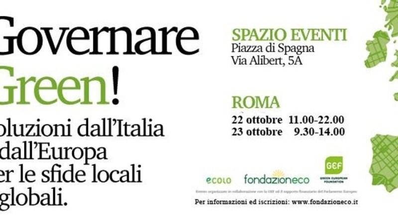 Governare green - soluzioni dall'Italia e dall'Europa
