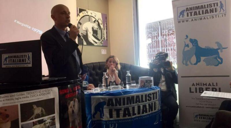 Conferenza Animalisti Italiani per Amatrice, Laura Sai (1)