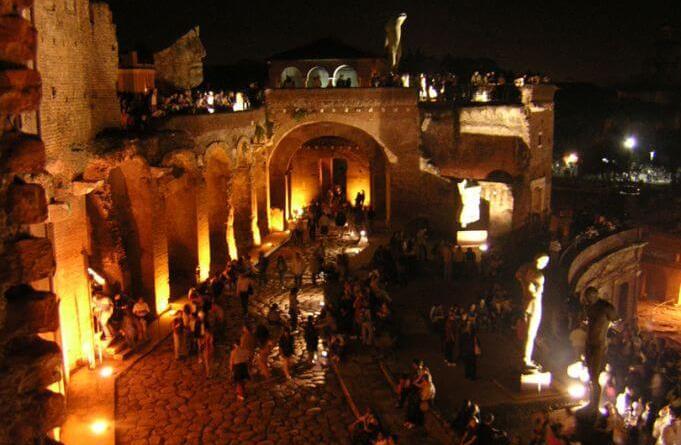 L'Accademia Nazionale di Santa Cecilia aiMercati di Traiano per l'apertura serale di sabato 23 settembre.Domenica 24 alle ore 11.30al Museo Carlo Bilotti.