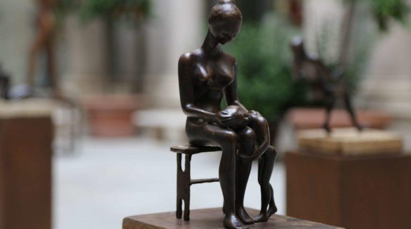 """I bronzi di Fanor Hernández alla Rocca """"Armonie d'Arte"""" Mostra Internazionale di Scultura Contemporanea. Iaugurazione venerdì 1 dicembre 2017 ore 18."""