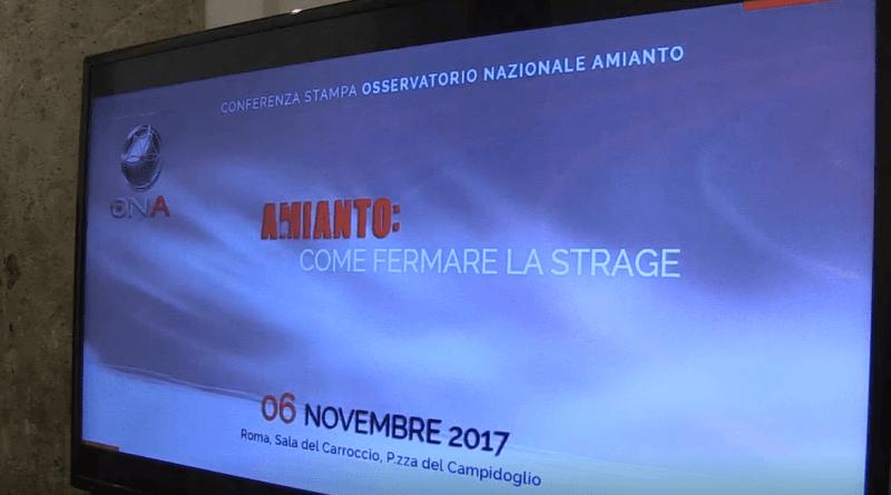 Osservatorio Nazionale Amianto. Come fermare la strage