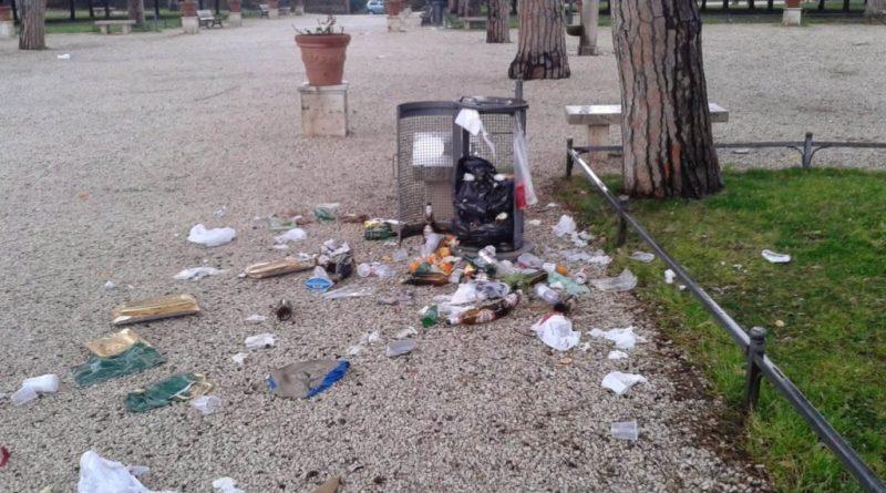 """Villa Pamphilj, Fabrizio Santori– Giovanni Picone (FdI) """"insicurezza e degrado, rinviata anche storica corsa beneficenza""""."""