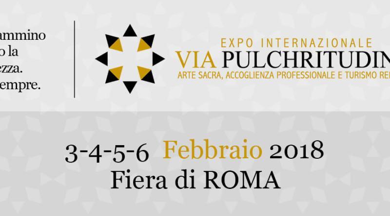 Sabato 3 febbraio alle ore 10.30 a Fiera Roma ci sarà l'inaugurazione di Via Pulchritudinis, laprima edizione dell'expo internazionale dedicata al Sacro.
