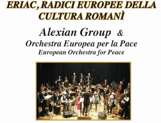 Mercoledì 14 Febbraio, presso la Presidenza del Consiglio dei ministri, in via Santa Maria in Via, 37, la presentazione in Italia dell'Istituto Europeo di Arte e Cultura Rom (ERIAC)