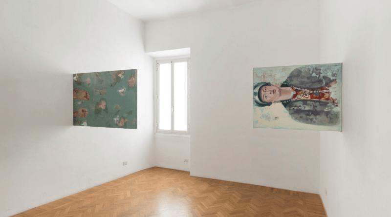 Sabato14 aprile2018 alle ore 18.30si conclude la mostrapersonale Nel Mezzo di Alessandra Di Francesco a cura di Roberta Melasecca.