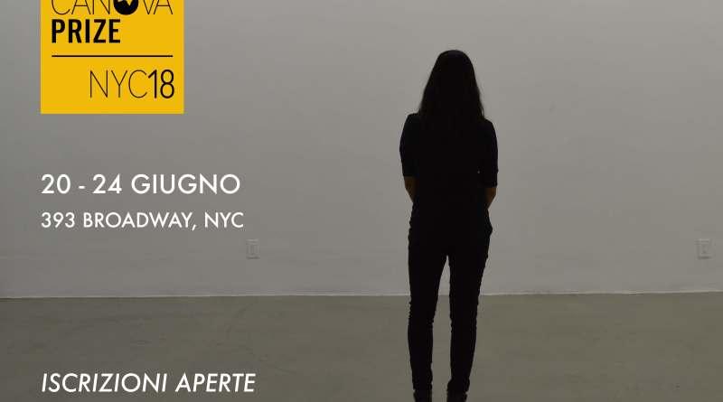 Sono aperte le iscrizioni alCanova Prize 2018, Premio Internazionale dedicato all'arte contemporanea.