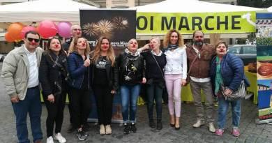 Grande successo per l'evento del Primo Maggio di Porto Sant'Elpidio, presentato a Roma, all'interno dell'iniziativa di Noi Marche.