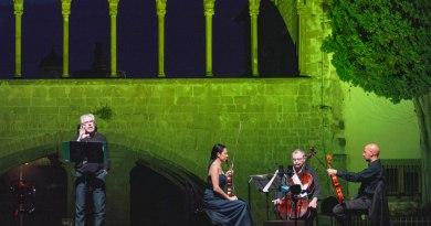 Dal 17 al 22 aprile,Mittente: Wolfgang Amadé Mozartcon Tullio Solenghie Trio d'archi di Firenze. Al Teatro Vittoria.