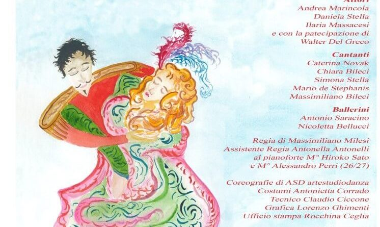 Dal 23 al 27 maggio alTeatro Agorà in Roma Ti ricordi l'Operetta? Atto unico di Stefano Terrabuoni.Regia di Massimiliano Milesi.