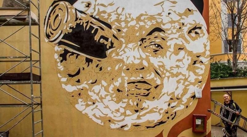 Urban Art in cattedra all'Università: successo della lezione di David Diavù Vecchiato.Applausi per lo Street Artist nell'Aula Parco dell'Università Roma Tre.