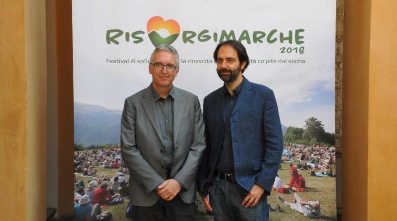 Presentata questa mattina, in conferenza stampa a Roma, la seconda edizione di RisorgiMarche, festival ideato e promosso da Neri Marcorè, per riportare il turismo nell'entroterra marchigiano.