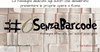 #6SenzaBarcode è Rassegna letteraria di libri, anche editi da diverso tempo, a Roma in collaborazione con luoghi istituzionali, privati e/o pubblici.