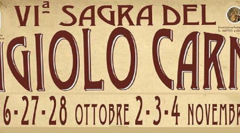 Sagra del Fagiolo Carne a Fabbrica di Roma,VI edizione26-27-28 Ottobre / 2-3-4 novembre 2018.Località Parco Le Vallette,Fabrica di Roma (VT).