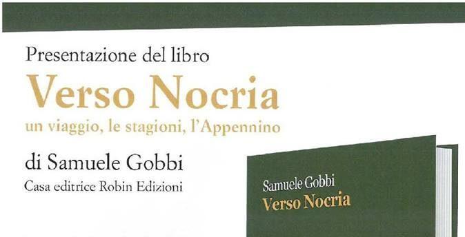 Dopo l'anteprima due settimane fa, continua il tour di presentazione di Verso Nocria, prima raccolta di poesie, edita da Robin Edizioni, di Samuele Gobbi.
