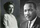 Ricorrendo il centenario della morte di Rosa Luxemburg (Berlino, 15 gennaio 1919) e il novantesimo anniversario della nascita di Martin Luther King (Atlanta il 15 gennaio 1929)