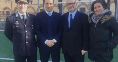 Visita del sottosegretario alla Giustizia,Jacopo Morrone, al Centro di giustizia minorile di Bologna.