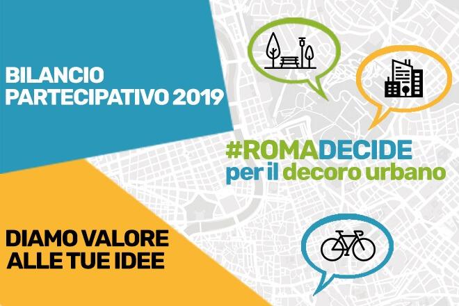 Il primo Bilancio Partecipativo di Roma Capitale giunge alla fase conclusiva. Dalle ore 12 del 12 fino alle ore 12 del 21 ottobre