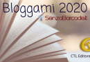II edizione per Bloggami 2020, il concorso per racconti brevi di SenzaBarcode. Pubblicazione dei racconti vincitori da CTL Editore Livorno.