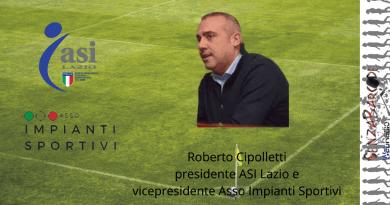 Chiarezza ed aiuti concreti da parte del Governo è quanto chiede a gran voce Roberto Cipolletti, presidente ASI Lazio e vicepresidente Asso Impianti Sportivi.
