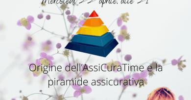 AssiCuraTime, nuovo spazio su WebRadio SenzaBarcode. La voce è della consulente assicurativa Giulia Quaranta Provenzano. Si comincia con la piramide assicurativa.