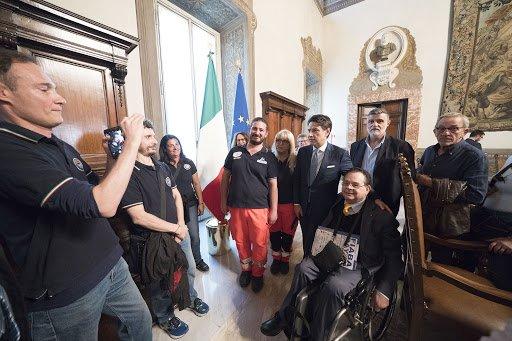 XVIII Giornata nazionale per l'abbattimento delle barriere architettoniche. Per quelle mentali serve cultura ogni giorno. Ne parliamo con Giuseppe Trieste, presidente Fiaba Onlus.