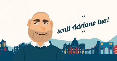 Lazio, il consigliere regionale Adriano Palozzi, protagonista del web, torna con la sua rubrica da milioni di click Senti Adriano tuo.