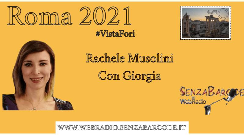 Rachele Mussolini, in Assemblea Capitolina con la lista civica con Giorgia sostiene Fratelli d'Italia nella corsa al Campidoglio. Roma 2021 #VistaFori.