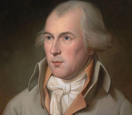 James Madison nasce a Port Conway, in Virginia, il 16 marzo 1751. A causa di una salute piuttosto cagionevole, non frequenta le scuole pubbliche e viene dunque istruito da vari precettori privati.