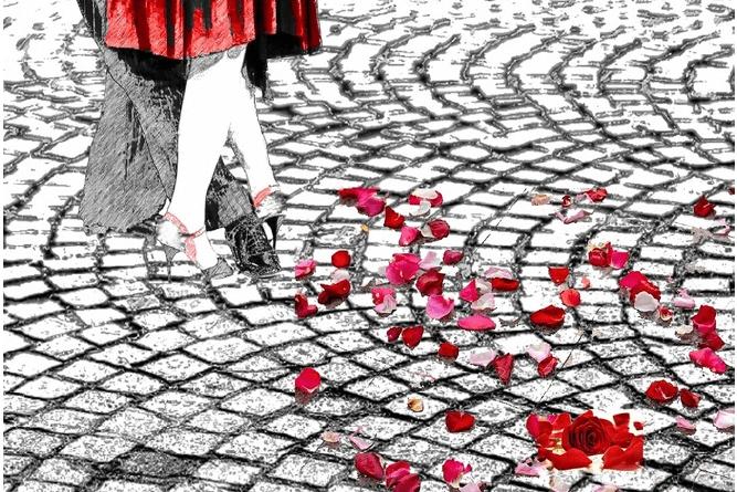 In scaffale, per la collana SenzaBarcode arriva Rose Scarlatte, il romanzo di Laura Mancini.