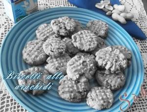 Ricetta dei biscotti arachidi senza glutine, senza latte, senza uova