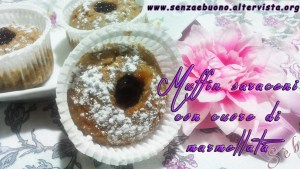 Muffin senza glutine vegan