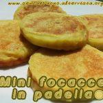 Focacce in padella senza glutine