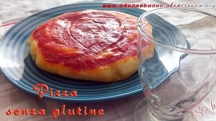Pizza senza glutine e senza lievito di birra