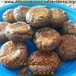 dolcetti al cacao e mandorle senza glutine