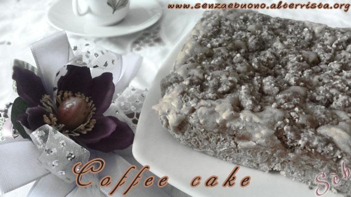 coffee cake senza glutine