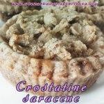 Crostatine con farina di grano saraceno