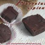 Cioccolatini ripieni e tartufini senza glutine e vegan