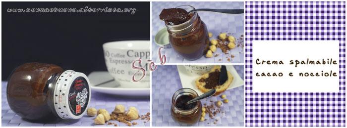 Crema spalmabile cacao e nocciole