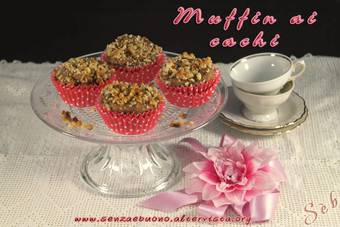 Muffin ai cachi