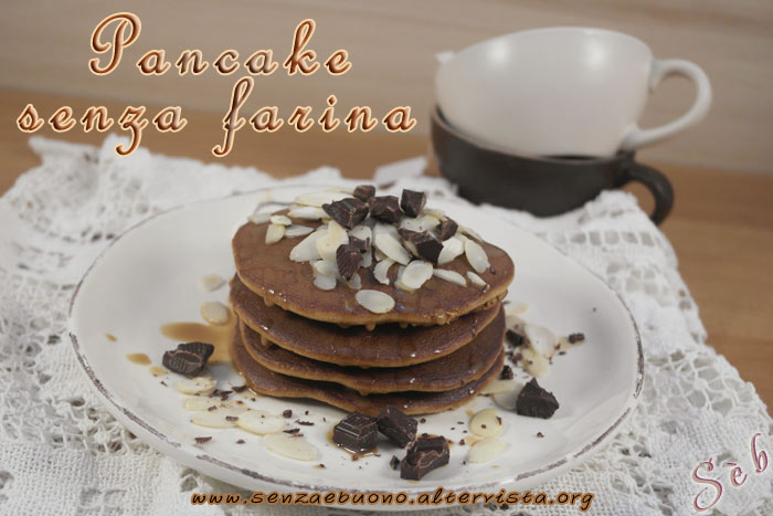 Pancake senza farina